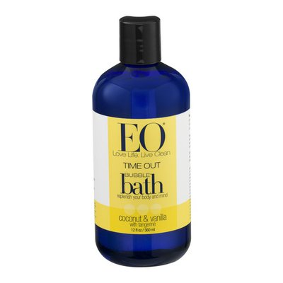 EO Products Time Out Bubble Bath Coconut & Vanilla with Tangerine