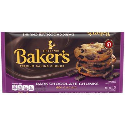Baker'S Dark Chocolate Premium Baking Chunks