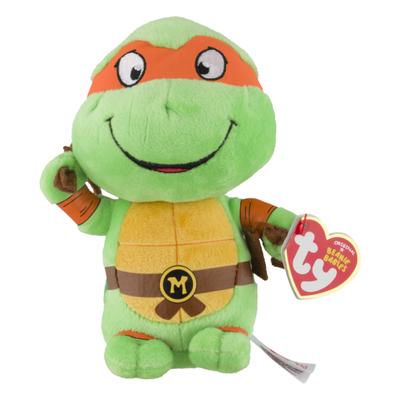 ty Beanie Babies Nickelodeon Teenage Mutant Ninja Turtles Michelangelo