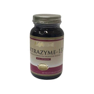 Life Time Nutritionals Extrazyme-13 with Probiotic in Vegetarian Capsules