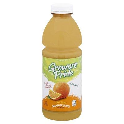 Growers Pride 100% Juice, Orange