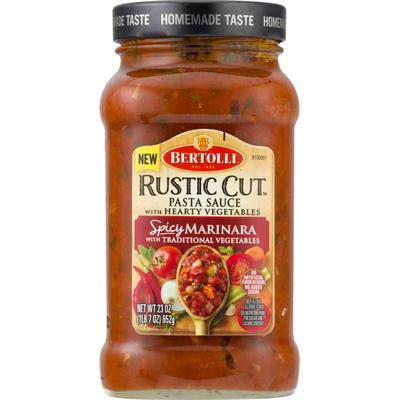 Bertolli Rustic Cut Pasta Sauce Spicy Marinara