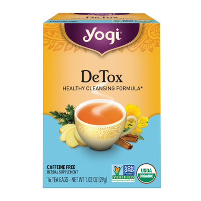 Yogi Tea Herbal Tea, DeTox Tea, Supports Healthy Cleansing