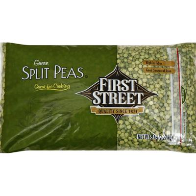 First Street Split Peas, Green
