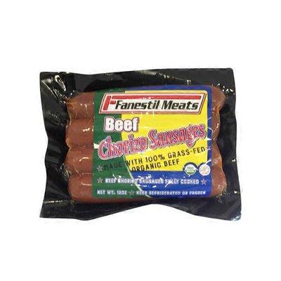 Fanestil Grass Fed Beef Chorizo Sausage