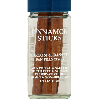 Morton & Bassett Spices Cinnamon Sticks