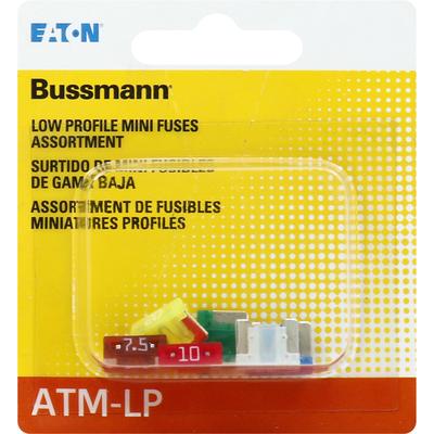 Bussmann Fuses, Low Profile, Assortment, Mini