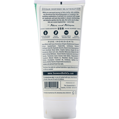 The Seaweed Bath Co. Body Cream, Eucalyptus & Peppermint, Hydrating, Soothing