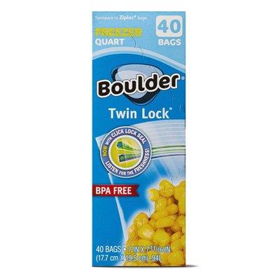 Boulder Quart Freezer Twin Lock Bags
