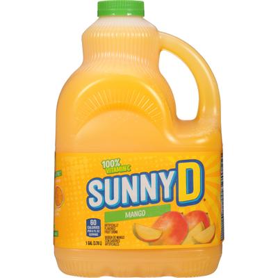 Sunny D Fruit Drink, Mango