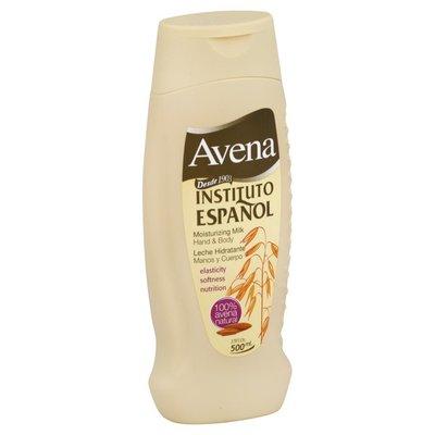 Avena Hand & Body, Moisturizing Milk
