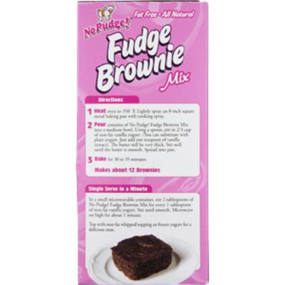 No Pudge! Brownie Mix, Fudge, Original