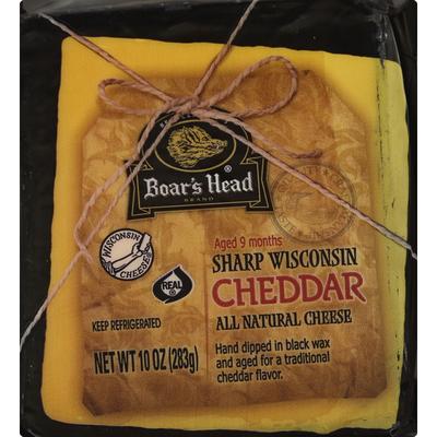 Boar's Head Sharp Wisconsin Cheddar Cheese
