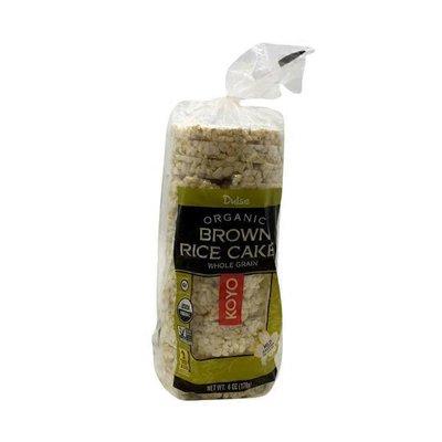 Koyo Dulse Organic Brown Rice Cakes