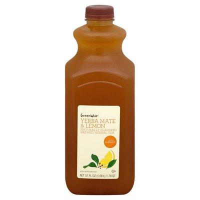 GreenWise Herbal Tea, Yerba Mate & Lemon, Brewed