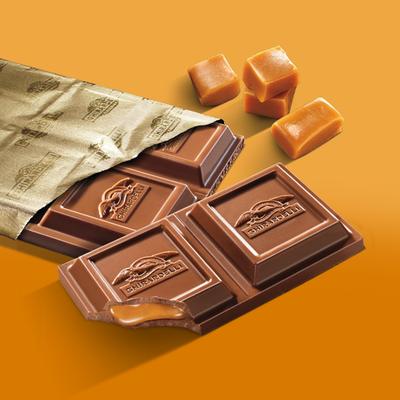 Ghirardelli Chocolate Milk Chocolate Bar with Caramel Filling
