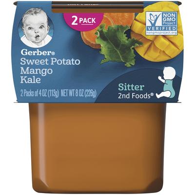 Gerber 2nd Foods Sweet Potato Mango Kale Baby Food