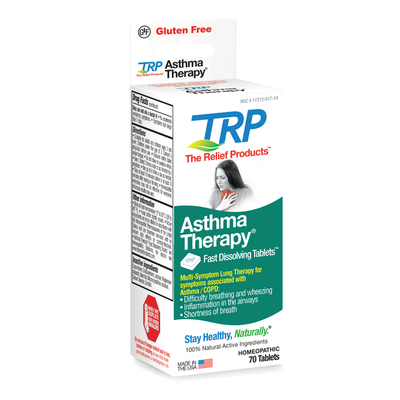 The Relief Products Asthma Therapy Fast Dissolving Tablets