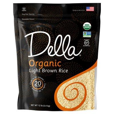 Della Light Brown Rice
