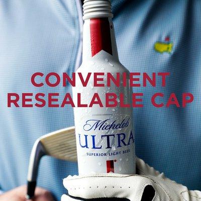 Michelob Ultra Light Beer Aluminum Bottles
