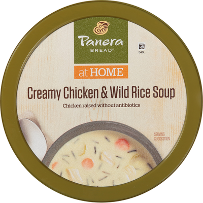 Panera Bread Creamy Chicken & Wild Rice Soup Cup (Gluten Free)