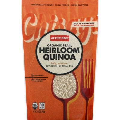 Alter Eco Organic Pearl Heirloom Quinoa