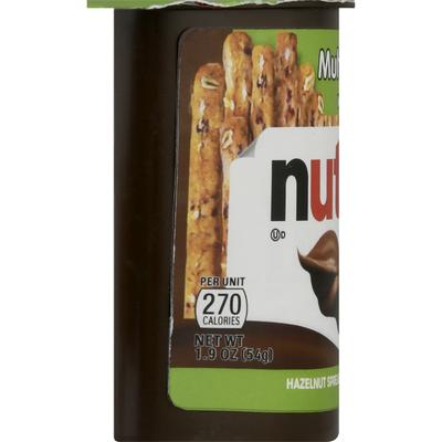 Nutella Hazelnut Spread + Multi Grain Sticks
