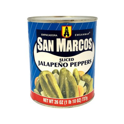 San Marcos Jalapeno Peppers, Sliced