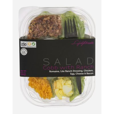 Lifestyle Foods Cobb with Ranch Salad