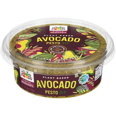 Good Foods Plant Based Avocado Pesto Dip