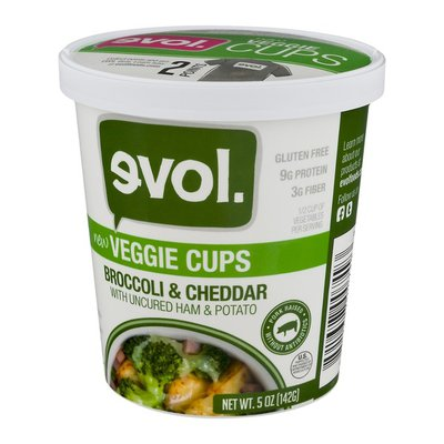 Evol Broccoli & Cheddar Veggie Cups