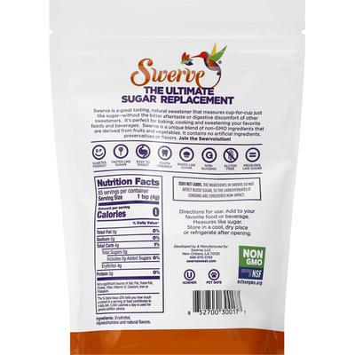 Swerve Sugar Replacement, Granular