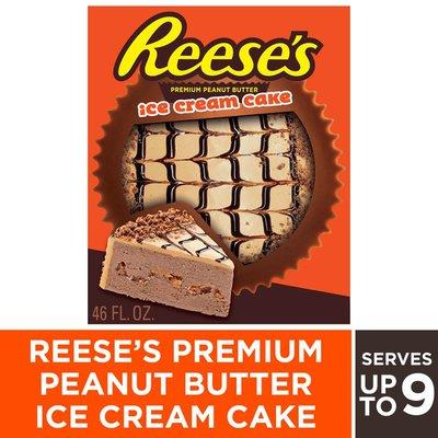 Rich's Reese's Premium Peanut Butter Ice Cream Cake