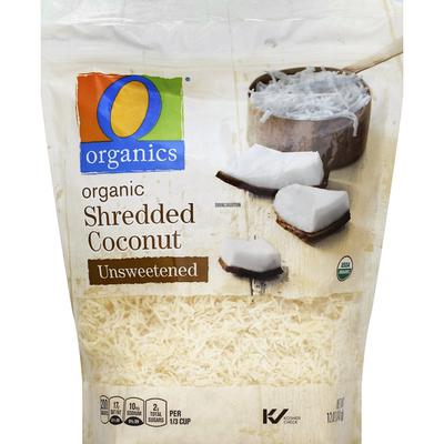 O Organics Coconut, Shredded, Organic, Unsweetened