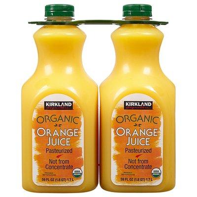 Kirkland Signature Organic Orange Juice