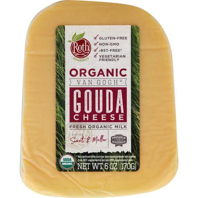 Roth Cheese, Organic, Gouda