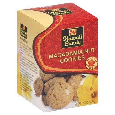 Hawaii Candy Cookie, Macadamia Nut, Box