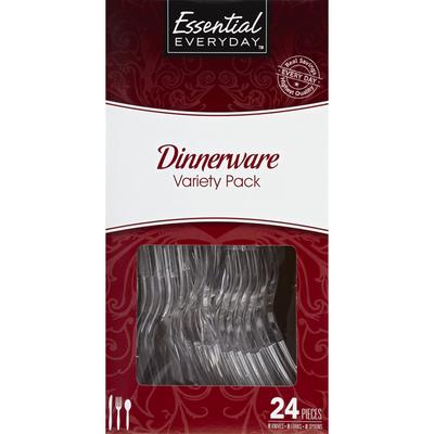 Essential Everyday Dinnerware, Variety Pack