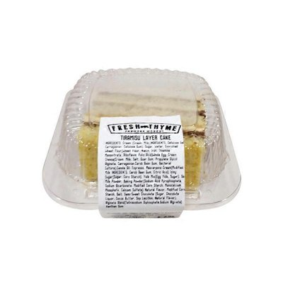 Fresh Thyme Kitchen Tiramisu Layer Cake