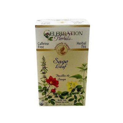 Celebration Herbals Organic Caffeine Free Sage Leaf Loose Tea