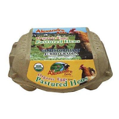 Alexandre Family Farm Organic Jumbo Grade A Pastured Eggs