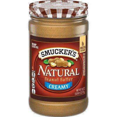 Smucker's Peanut Butter, Creamy, Natural