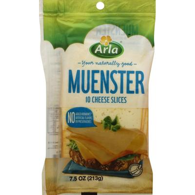 Arla Muenster Cheese Slices