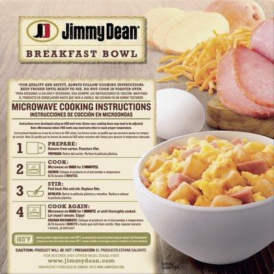 Jimmy Dean Ham, Egg & Cheese Breakfast Bowl, 7 oz.
