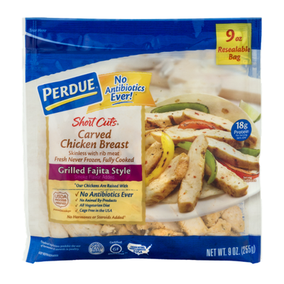 Perdue Carved Chicken Breast Grilled Fajita Style