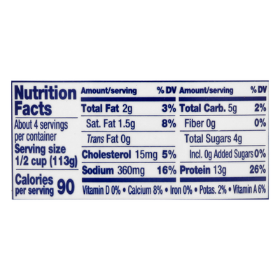 Daisy Cottage Cheese, 2% Milkfat, Low Fat
