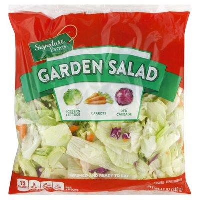 Signature Farms Garden Salad