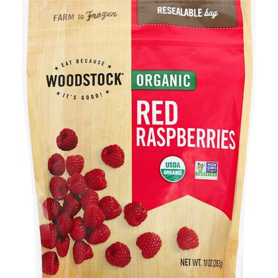 WOODSTOCK Organic Red Raspberries