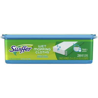 Swiffer Wet Mopping Cloths, Fresh Scent