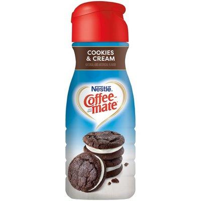Nestlé Coffee Mate Coffee-mate Cookies & Cream  Nestlé Coffee-Mate Cookies & Cream Liquid Coffee Creamer